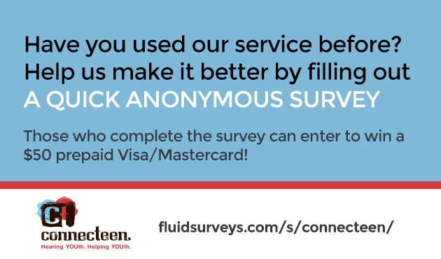 If you've used our service before, fill out this survey and you could win a $50 prepaid Visa/Mastercard