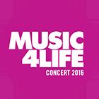 Music 4 Life logo