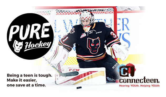 Tickets now on sale for Calgary Hitmen game in support of ConnecTeen